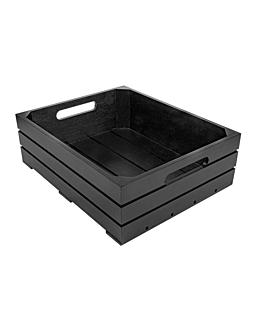 caja buffet gn 1/2 32,5x26,5x10 cm negro bambÚ (1 unid.)