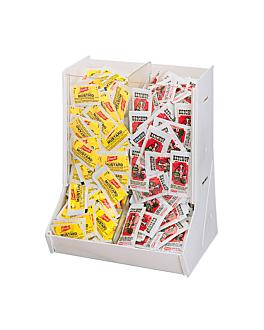 kleinerbeutelspender gewÜrz 24,7x19,3x30 cm transparent acryl (1 einheit)