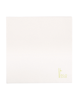 tovallons 'eco-bamboo' 70 g/m2 45x45 cm blanc bambÚ (600 unitat)
