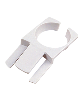 on plate cup holders 7,5x4,2 cm white plastic (200 unit)