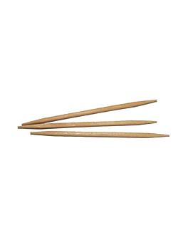 cure-dents ronds 6,8 cm naturel bois (1000 unitÉ)