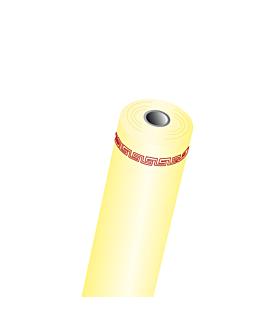 mantel en rollo 60 g/m2 1,18x40 m amarillo pÁlido airlaid (1 unid.)