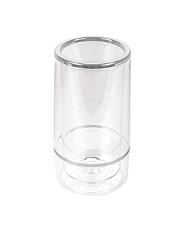 wine server Ø 12x23 cm clear acrylic (1 unit)