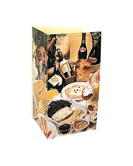 """carta 3 cuerpos """"especial. italianas"""" 47x30 cm surtido cartoncillo (1 unid.)"""