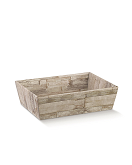 corbeilles 29x21x9 cm bois carton (30 unitÉ)