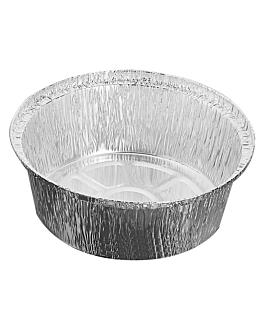 recipientes pollos - pequeÑos Ø 21,6x6 cm aluminio (500 unid.)