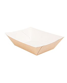containers 'thepack' 480 g 220 gsm 10x6,2x4,8 cm natural nano-micro corrugated cardboard (1800 unit)