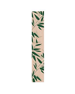sachetti panetteria 'feel green' 32 g/m2 12+7x66 cm naturale kraft (100 unitÀ)