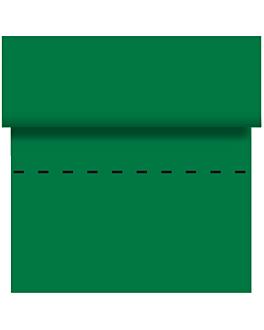 mantel precortado - 60 segmentos 120x120 cm verde airlaid (4 unid.)