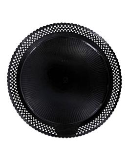"""doilies plates """"erik"""" Ø 40 cm black cardboard (100 unit)"""
