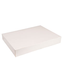 self assembling catering boxes 325 gsm 32x42 cm white cardboard (100 unit)