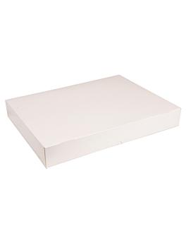scatole catering auto montaggio 325 g/m2 32x42 cm bianco cartone (100 unitÀ)