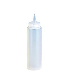 dosatore per salse 240 ml Ø 5x18,2 cm traslucido pehd (6 unitÀ)