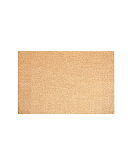 table mats 45x30 cm beige jute (12 unit)