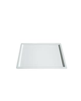 bacs gn 1/1 2 (h) cm blanc melanine (6 unitÉ)