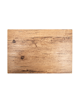 table mats imitation oak 45x30 cm pvc (12 unit)