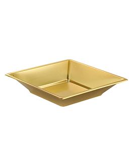 8 assiettes creuses 18 cm or ps (36 unitÉ)