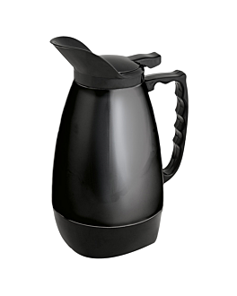 """""""flip-top"""" thermo 1 l 11x24 cm black stainless steel (1 unit)"""