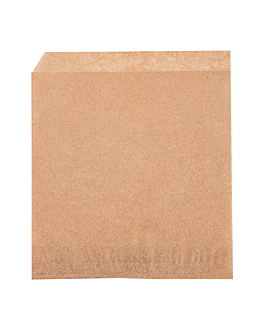 2 sides open bags 34 gsm 13x14 cm natural greaseproof parch. (1000 unit)