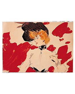tovagliette offset 'art nouveau' 70 g/m2 31x43 cm quatricomia carta (2000 unitÀ)