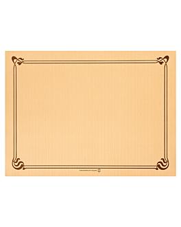 mantelines 48 g/m2 31x43 cm caramelo celulosa (2000 unid.)