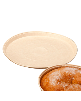round baking molds Ø 30x1,5 cm natural siliconized paper (400 unit)