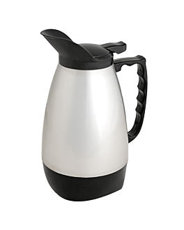 """""""flip-top"""" thermo 1 l 11x24 cm silver stainless steel (1 unit)"""