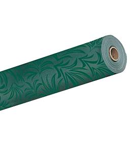 """mantel en rollo """"park avenue"""" 55 g/m2 1,18x40 m verde jaguar airlaid (1 unid.)"""