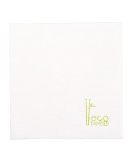 tovallons 'eco-bamboo' 70 g/m2 20x20 cm blanc bambÚ (3600 unitat)