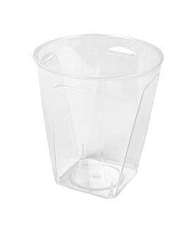 verres injectÉs base carrÉe 60 ml Ø 5x5,5 cm transparent ps (960 unitÉ)