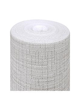 """tÚ y yo"" pre 120cm (20 ser.) 'dry cotton' 55 g/m2 0,40x24 m gris airlaid (6 unid.)"