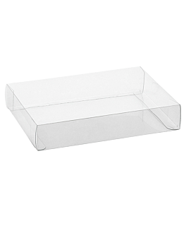 baking case 22,5x17,5x4 cm clear pvc (50 unit)