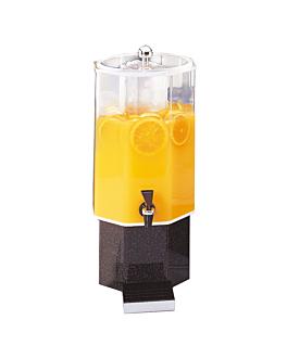 distributore di succhi 7,6 l 50 (h) cm trasparente acrilico (1 unitÀ)