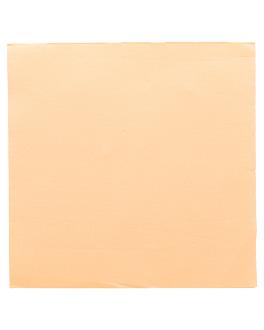 serviettes ecolabel 'double point' 18 g/m2 39x39 cm ivoire ouate (1200 unitÉ)