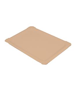 bandejas pastelerÍa - medianas 30x21 cm natural kraft (125 unid.)