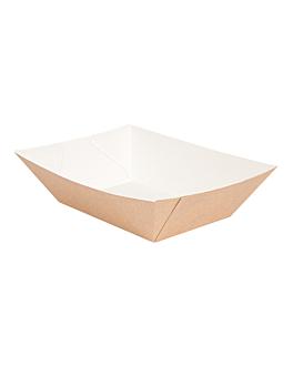 barquettes 'thepack' 1200 g 220 g/m2 11,9x7,9x5,5 cm naturel carton ondulÉ nano-micro (1000 unitÉ)