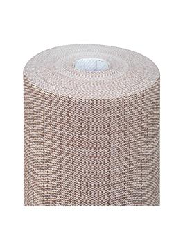 """""""tÚ y yo"""" pre 120cm (20 ser.) 'dry cotton' 55 g/m2 0,40x24 m chocolate airlaid (6 unid.)"""