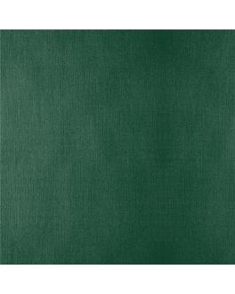 manteles plegado m 48 g/m2 100x100 cm verde jaguar celulosa (200 unid.)