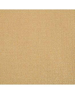 nappes pliage m 48 g/m2 100x100 cm or cellulose (200 unitÉ)
