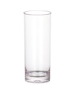 "cups ""cuba libre"" 360 ml Ø 6,7x15,8 cm clear polycarbonate (12 unit)"