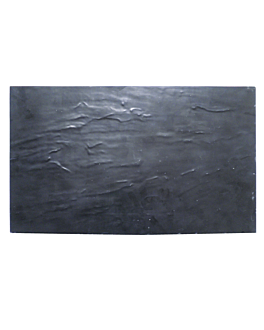 boards gn 1/3 imitation blackboard 32,5x17,5 cm black melamine (6 unit)