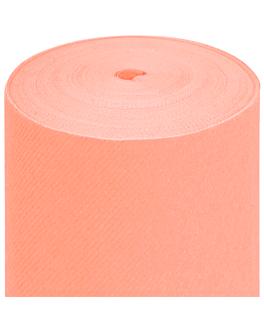 tablecloth precut - 75 segments 60 gsm 80x80 cm peach airlaid (4 unit)
