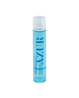 flakon gel 'azur' 40 ml 11,8 cm transparent plastik (300 einheit)