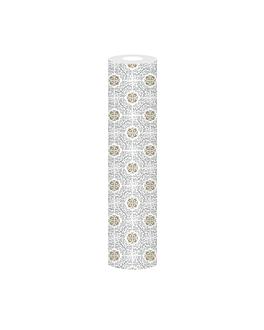 """mantel de mesa """"tu y yo"""" 'allure' 55 g/m2 0,40x12 m blanco airlaid (6 unid.)"""