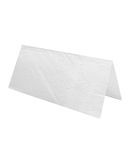 "hand towels 2 ply - ""z"" folded 22x38 cm white tissue (2500 unit)"