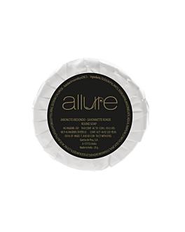 small round soap bars 'allure' 18 g Ø5,2x1 cm white (500 unit)