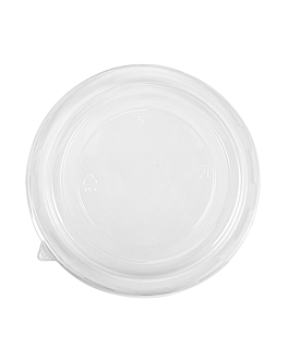 lids for item 240.05/11/14 Ø 18,7 cm clear pet (300 unit)