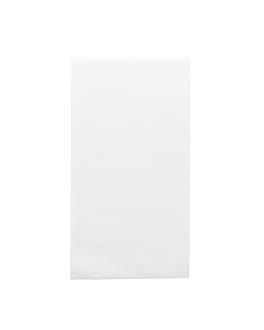 tovaglioli piegato 1/8 55 g/m2 40x40 cm bianco airlaid (750 unitÀ)