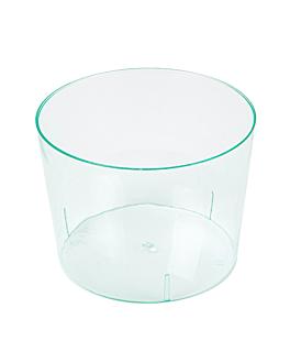 mini containers 'bodega' 180 ml Ø 7,5x5,8 cm sea green ps (200 unit)
