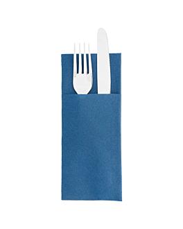 servilletas cangurito 55 g/m2 33x40 cm azul marino airlaid (700 unid.)